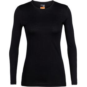 Icebreaker W's 200 Oasis LS Crewe Shirt Black